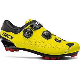 Sidi MTB Eagle 10 Schoenen Heren, black/yellow/fluo